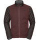 VAUDE Cyclist II Jacket Men Padded berry